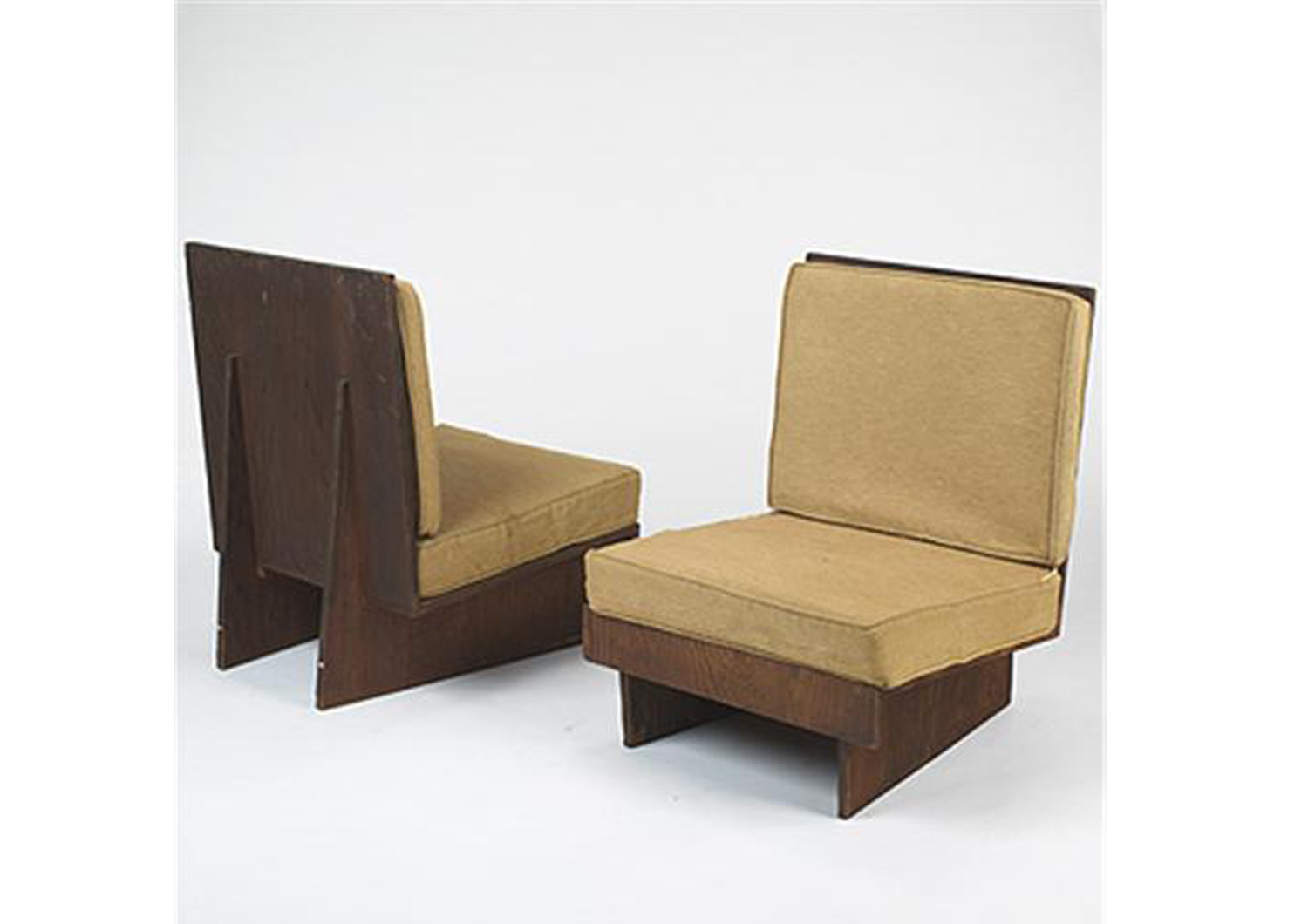 Frank Lloyd Wright: A chair from the Sweenton house
