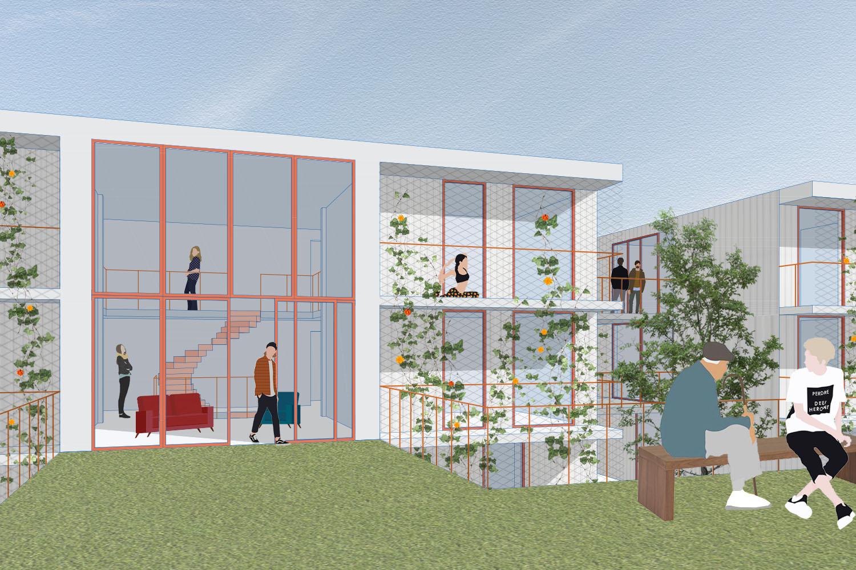 Povezani, stanovanjska zadruga za različne generacije in študentski dom