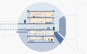 Povezani, študentski dom za gibalno ovirane študente