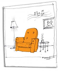 Fotelj za kavo